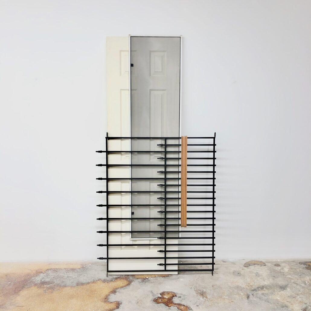 Leyden Rodriguez-Casanova. A Gated Door and Screen, 2019.